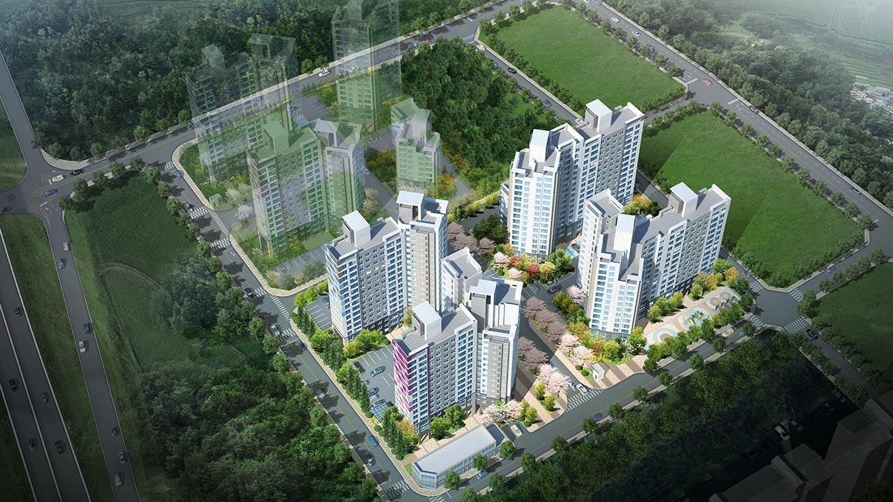진천 광혜원 지역주택조합 아파트 건설공사