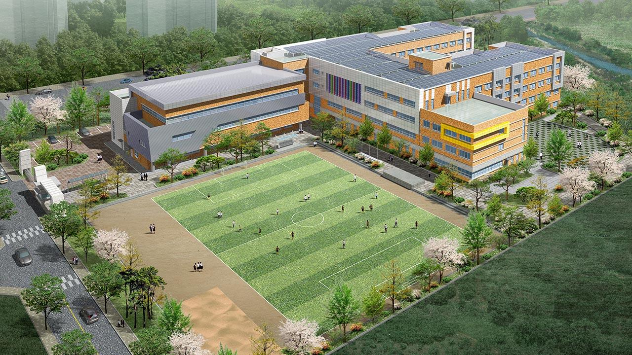 185 송산1고등학교 신축공사 건설사업관리용역